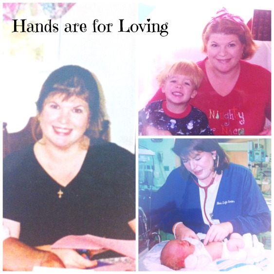 Hands are for loving