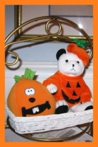 pumpkin bear
