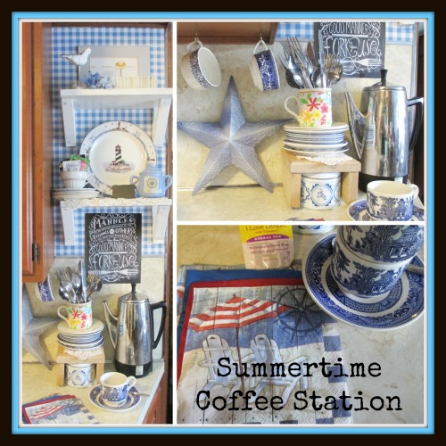 summer coffee station 11