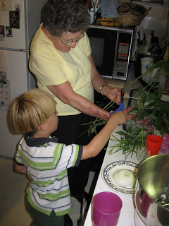 gma flower arranging