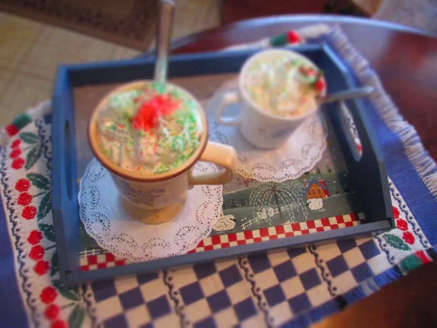 coffee sprinkels christmas