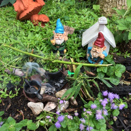 The Gnomes have a Campfire